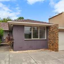 Rental info for Tranquil Private Seclusion in the Heart of Caulfield in the Caulfield North area
