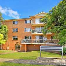 Rental info for MINUTES WALK TO STATION in the Westmead area