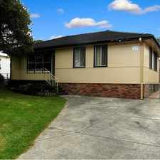 Rental info for Renovated 3 Bedroom Home in the Lake Illawarra area