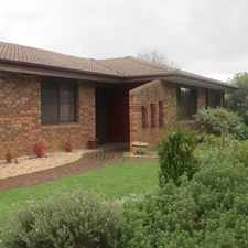 Rental info for ***UNDER OFFER*** WELL MAINTAINED FAMILY HOME in the Canberra area