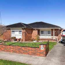 Rental info for SPACIOUS LIVING AND READY TO OCCUPY in the Bentleigh East area