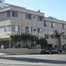 Rental info for 3556 San Marino St, Unit 3 in the Los Angeles area