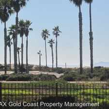 Rental info for 701 Reef Circle in the Port Hueneme area