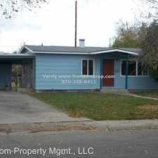Rental info for 1943 White Ave in the 81501 area