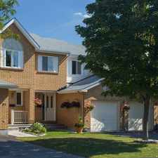 Rental info for Bridlewood Townhomes in the Kanata South area