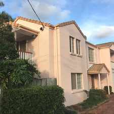 Rental info for Picture perfect Toowong townhouse!