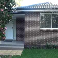 Rental info for In the Heart of Castle Hill in the Sydney area