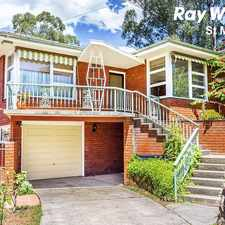 Rental info for LARGE FAMILY HOME WITH A TEENAGE RETREAT IN A QUIET CUL DE- SAC LOCALE in the Eastern Creek area