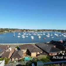Rental info for Fabulous views over Five Dock Bay and spacious interiors in the Sydney area