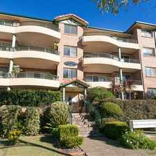 Rental info for NORTH FACING APARTMENT in the Caringbah area