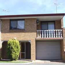 Rental info for Townhouse in Convenient Location in the Singleton area