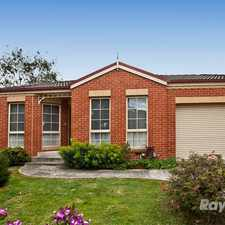 Rental info for Peaceful, picturesque and practical in the Melbourne area