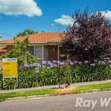Rental info for LOW MAINTENANCE & IMMACULATE in the Yallambie area