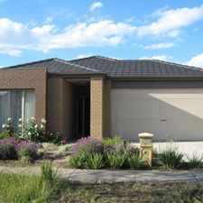 Rental info for Modern Living At Its Best! in the Roxburgh Park area
