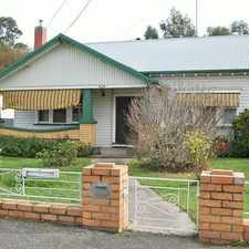 Rental info for Home With Shedding In Great Location in the Ballarat area