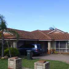 Rental info for PRICE FURTHER REDUCED! IDEAL FURNISHED FAMILY HOME