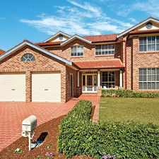 Rental info for STYLISH FAMILY RESIDENCE! Open home Thursday 15th Dec. in the Kellyville area