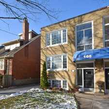 Rental info for 168 Bowood Avenue in the Lawrence Park North area
