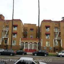 Rental info for 3701 W 1st Street - 310 in the Los Angeles area