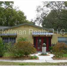Rental info for South Tampa Home Just off Bayshore in the Ballast Point area
