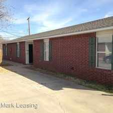 Rental info for 1322 B 82nd Street in the Lubbock area
