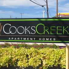 Rental info for Cooks Creek in the Fort Worth area
