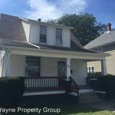 Rental info for 1725 Andrew Street in the Fort Wayne area