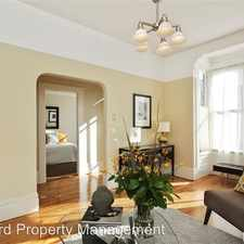 Rental info for 3754 Cesar Chavez St in the Bernal Heights area