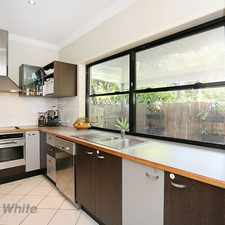 Rental info for Sophisticated Toowong Townhouse!