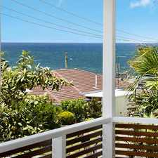 Rental info for Relaxed Beachside Living In Shelly Beach! in the Moffat Beach area