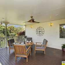 Rental info for PRIVATE DECK WITH VIEWS!! Gardening included in rent in the Albany Creek area
