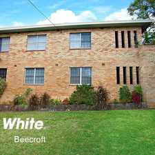Rental info for **Deposit Taken** Located in the heart of Beecroft in the Sydney area