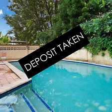 Rental info for DEPOSIT TAKEN BY RAY WHITE ERMINGTON | 9898 1822