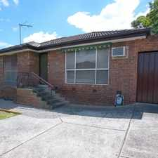 Rental info for Close to Everything! in the Noble Park North area