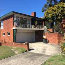 Rental info for Spacious Family Home in the Sydney area