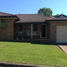 Rental info for 3 Bedroom Villa in Great Location in the Wollongong area