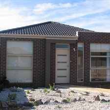 Rental info for 3 BEDROOM HOUSE IN WEST MELTON in the Melton area