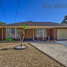 Rental info for Family delight! in the Keilor Downs area