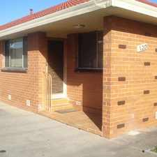 Rental info for Walking distance to Trains, Schools and Shops! in the Melbourne area