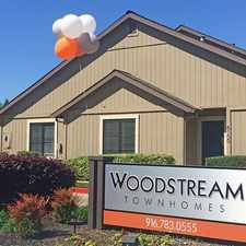 Rental info for Woodstream Townhomes in the Roseville area