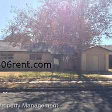 Rental info for 4621 46th St. in the Lubbock area