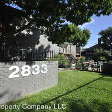 Rental info for 2833 Kings Road Unit in the Dallas area