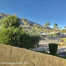 Rental info for 2600 S. Palm Canyon Dr. #61