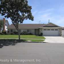 Rental info for 1592 W Sim Place in the Anaheim area