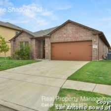 Rental info for 8649 Lone Shadow Trail in the San Antonio area