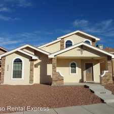 Rental info for 4004 Hueco Valley Dr
