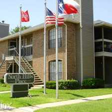 Rental info for North Hills Place in the Fort Worth area