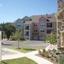 Rental info for Springs on Mcneil apts in the Cedar Park area