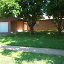 Rental info for 4630 Grinnell St. in the Lubbock area