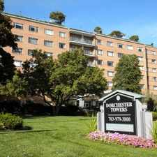 Rental info for Dorchester Towers in the Columbia Heights South area